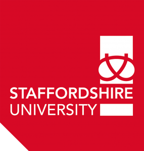 Staffs Uni Red Logo Print Version